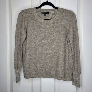 BANANA REPUBLIC Open Back Marled Pullover Sweater